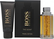 Hugo Boss Boss The Scent Gift Set 100ml EDT Spray + 100ml Shower Gel
