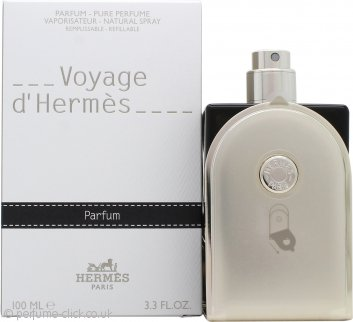 Voyage d'Hermès Pure Perfume 100ml Natural Spray - Refillable