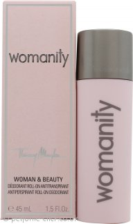 Thierry Mugler Womanity Deodorant Roll-On 45ml