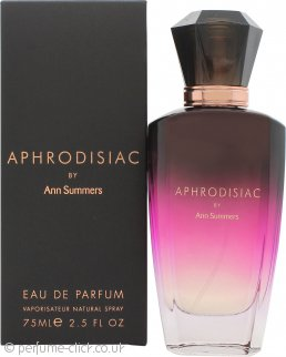 Ann Summers Aphrodisiac Eau de Parfum 75ml Spray