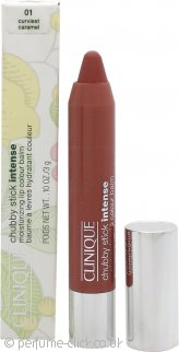 Clinique Chubby Stick Intense Moisturizing Lip Colour Balm 3g - 01 Curviest Caramel