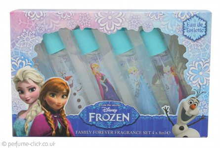 Disney Frozen Gift Set Eau de Toilette 4 x 8ml Roll On