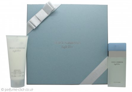 Dolce & Gabbana Light Blue Gift Set 50ml EDT + 100ml Body Cream