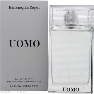 Ermenegildo Zegna Uomo Eau De Toilette 50ml Spray