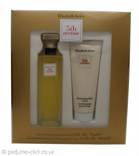 Elizabeth Arden Fifth Avenue Gift Set 75ml EDP Spray + 100ml Body Lotion