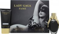 Lady Gaga Fame Gift Set 50ml EDP + 75ml Body Lotion