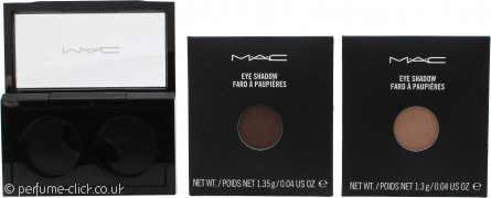 MAC Pro Palette Pro Colour Eyeshadow Set 2 x 1.3g Refill - All That Glitters + Browns Down