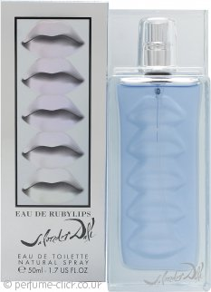 Salvador Dali Eau De Ruby Lips Eau de Toilette 50ml Spray