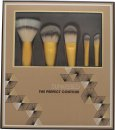 Sunkissed The Perfect Contour Brush Gift Set 5 x Brushes (Stippling Brush + Contour Brush + Foundation Brush + Eyeshadow Brush + Brow Brush)