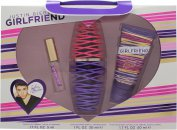 Justin Bieber Girlfriend Set de Regalo 30ml EDP + 50ml Loción Corporal + 5ml EDP Bola Perfumada