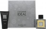 Guerlain L'Homme Ideal Set de Regalo 50ml EDT Vaporizador + 75ml Gel de Ducha