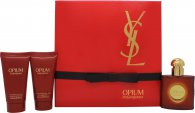 Yves Saint Laurent Opium Gift Set 30ml EDT + 50ml Shower Gel + 50ml Body Lotion