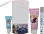 Disney Frozen Gift Set 9ml Rollerball + 25ml Bubble Bath + Lipgloss
