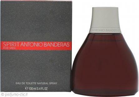 Antonio Banderas Spirit Eau de Toilette 100ml Spray