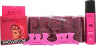 Sleep In Rollers Girls Night In Presentset 10 Rollers + 250ml Body Soak + Badmössa