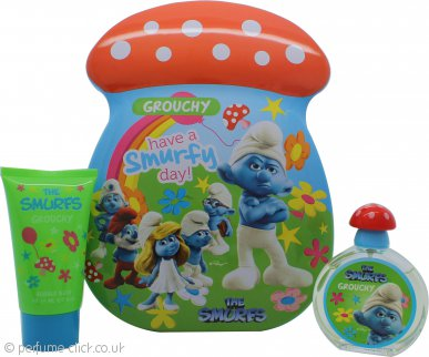 The Smurfs Grouchy Gift Set 50ml EDT + 75ml Bubble Bath