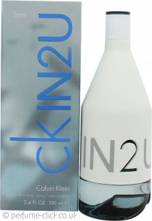 Calvin Klein IN2U Eau de Toilette 100ml Spray