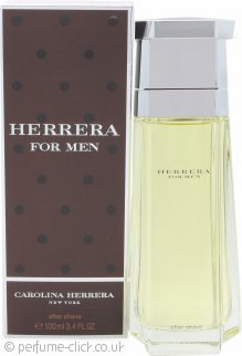 Carolina Herrera Herrera For Men Aftershave 100ml Splash