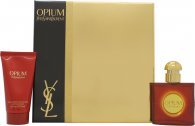 Yves Saint Laurent Opium Set de Regalo 30ml EDT + 50ml Hidratante Corporal