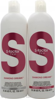 Tigi Duo Pack S-Factor Diamond Dreams 750ml Shampoo + 750ml Conditioner