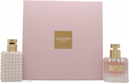 Valentino Donna Gift Set 50ml EDP + 100ml Body Lotion
