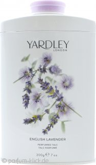 Yardley English Lavender Parfumierter Körperpuder 200g