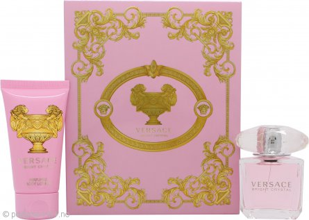 Versace Bright Crystal Gavesett 30ml EDT + 50ml Body Lotion