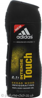 Adidas Intense Touch 2 in 1 Hair & Body Shower Gel 250ml