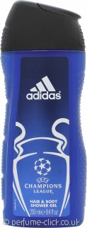 Adidas Champions League Hair & Body Shower Gel 250ml