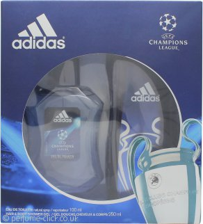 Adidas UEFA Champions League Edition Gift Set 100ml EDT + 250ml Shower Gel