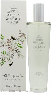 Woods of Windsor White Jasmine Eau de Toilette 100ml Spray