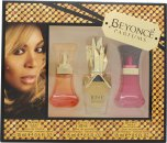 Beyoncé Confezione Regalo 15ml Heat Wild Orchid EDP + 15ml Heat Rush EDP + 15ml Rise EDP