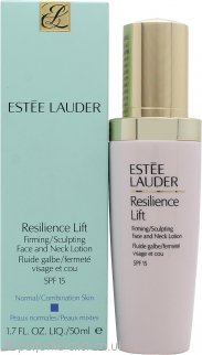Estee Lauder Resilience Lift Firming/Sculpting Face and Neck Lotion 50ml SPF15