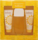 Elizabeth Arden Sunflowers Gavesett 100ml EDT + 100ml Body Lotion + 100ml Cream Cleanser