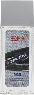 Esprit Jeans Style Deodorant Spray 75ml