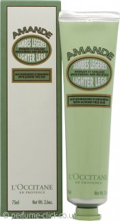 L'Occitane en Provence Almond Lighter Legs Foot Cream 75ml