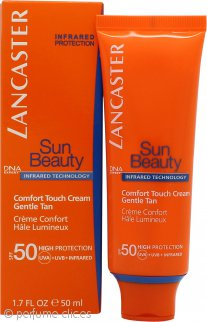 Lancaster Sun Beauty Toque Confort Bronceado Suave Crema Facial FPS50 50ml