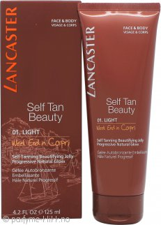 Lancaster Sun Self Tan Beautifying Jelly 125ml - 01 Light