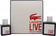 Lacoste Live Gift Set 100ml EDT + 40ml EDT