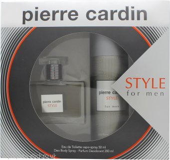 Pierre Cardin Style Gift Set 50ml EDT + 200ml Body Spray