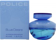 Police Blue Desire Eau de Toilette 40ml Spray