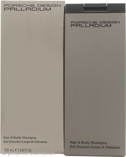 Porsche Design Palladium Hair and Body Shampoo 200ml