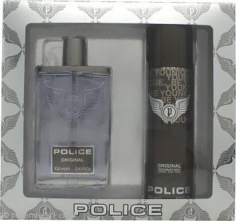 Police Original Gift Set 100ml EDT + 200ml Deodorant Spray