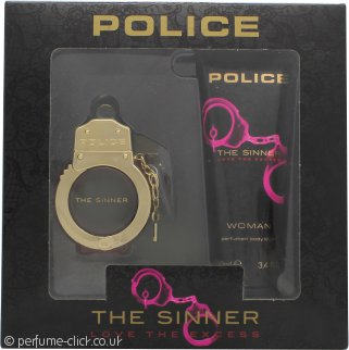 Police The Sinner Gift Set 30ml EDT + 100ml Body Lotion