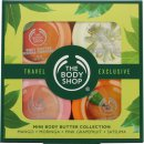 The Bodyshop Colección Mini Manteca Corporal 4 x 50ml - Mango + Moringa + Pomelo Rosa + Satsuma
