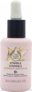 The Body Shop Vitamin E Overnight Serum In Oil 28ml