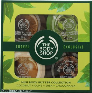 The Body Shop Mini Butter Gift Set 4 x 50ml Mini Body Butter
