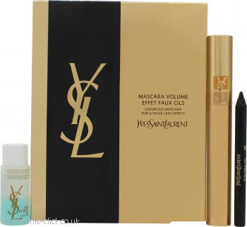 Yves Saint Laurent Mascara Volume Effet Faux Cils Gift Set Volume Effect Mascara + 3ml Eye Liner + 8ml Bi-Phase Make-up Removery