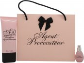 Agent Provocateur Gavesett 5ml EDP Spray + Bubble Luscious Bathing Bubble Wash 50ml
