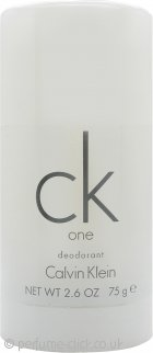 Calvin Klein CK One Deodorant Stick 75ml